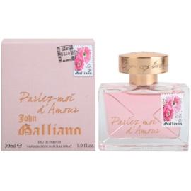 John Galliano Parlez-Moi d'Amour Parfumovaná voda pre ženy 30 ml