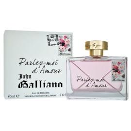 John Galliano Parlez-Moi d'Amour Eau de Toilette für Damen 80 ml