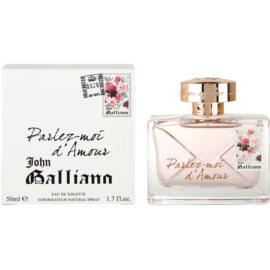 John Galliano Parlez-Moi d'Amour Eau de Toilette für Damen 50 ml