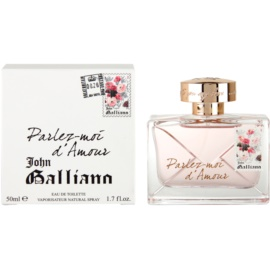 John Galliano Parlez-Moi d'Amour Eau de Toilette für Damen 50 ml