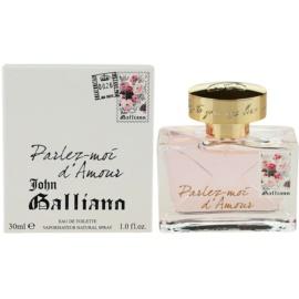 John Galliano Parlez-Moi d'Amour Eau de Toilette für Damen 30 ml