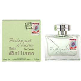 John Galliano Parlez-Moi d´Amour Eau Fraiche Eau de Toilette für Damen 50 ml