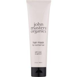 John Masters Organics Rose & Apricot Masca de par  148 ml