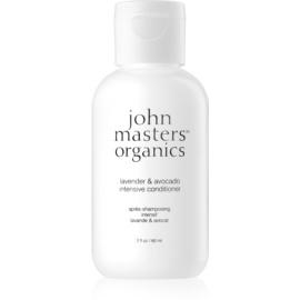John Masters Organics Lavender & Avocado Intensiv-Conditioner für trockenes und beschädigtes Haar  60 ml