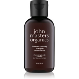 John Masters Organics Lavender Rosemary sampon pentru par normal  60 ml