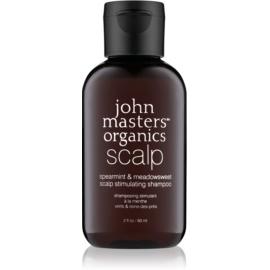 John Masters Organics Scalp stimulující šampon pro zdravou pokožku hlavy  60 ml