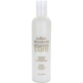 John Masters Organics Bare Unscented Condicionador para todos os tipos de cabelo sem perfume  236 ml