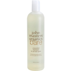 John Masters Organics Bare Unscented Shampoo für alle Haartypen Nicht parfümiert  473 ml
