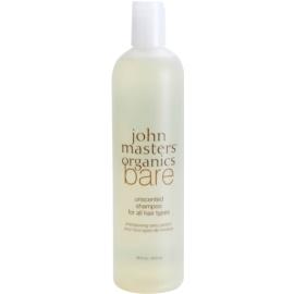 John Masters Organics Bare Unscented szampon do wszystkich rodzajów włosów nieperfumowane  473 ml