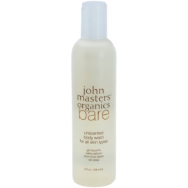 John Masters Organics Bare Unscented gel de ducha sin perfume  236 ml