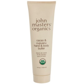 John Masters Organics Cacao & Cupuacu vaj a kezekre és a testre  118 ml