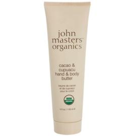 John Masters Organics Cacao & Cupuacu Butter für Hände und Körper  118 ml
