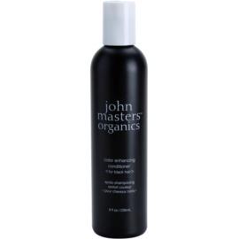 John Masters Organics Color Enhancing kondicionér pro oživení černé barvy vlasů  236 ml