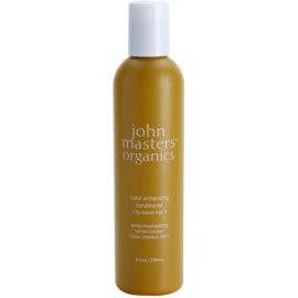 John Masters Organics Color Enhancing balsam pentru revitalizarea parului blond  236 ml