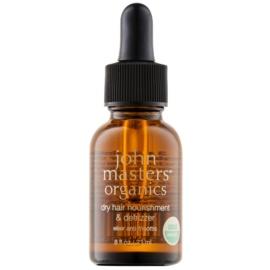 John Masters Organics Dry Hair Nourishment & Defrizzer pečující olej pro uhlazení vlasů  23 ml