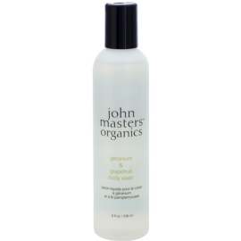 John Masters Organics Geranium & Grapefruit sprchový gel  236 ml