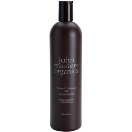 John Masters Organics Honey & Hibiscus erneuernde Maske zur Stärkung der Haare  473 ml