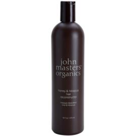 John Masters Organics Honey & Hibiscus obnovující maska pro posílení vlasů  473 ml
