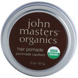 John Masters Organics Hair Pomade pomada para alisamento e nutrição de cabelo seco e rebelde  57 g