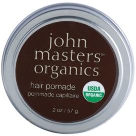 John Masters Organics Hair Pomade pomáda pro uhlazení a výživu suchých a nepoddajných vlasů  57 g