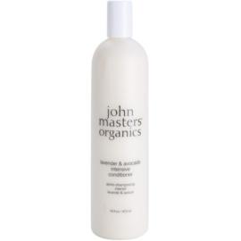 John Masters Organics Lavender & Avocado intenzivní kondicionér pro suché a poškozené vlasy  473 ml