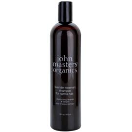 John Masters Organics Lavender Rosemary champô para cabelo normal  473 ml