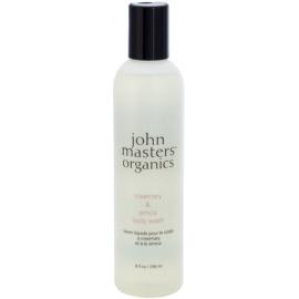John Masters Organics Rosemary & Arnica sprchový gel s povzbuzujícím účinkem  236 ml