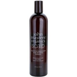 John Masters Organics Scalp stimulující šampon pro zdravou pokožku hlavy  473 ml