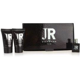 John Richmond For Men dárková sada IV. toaletní voda 4,5 ml + sprchový gel 25 ml + balzám po holení 25 ml