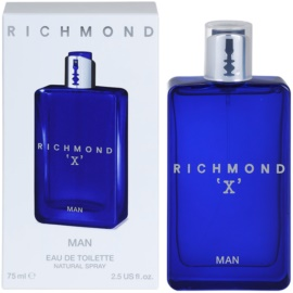 John Richmond X For Man eau de toilette férfiaknak 75 ml