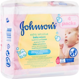 Johnson's Baby Diapering Extra Gentle Cleansing Wipes for Kids  224 pc