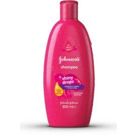 Johnson's Baby Shiny Drops champú para niños con aceite de argán  500 ml