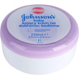 Johnson's Baby Care dětský tělový krém pro dobré spaní  250 ml