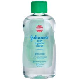 Johnson's Baby Care babaolaj aleo verával  200 ml