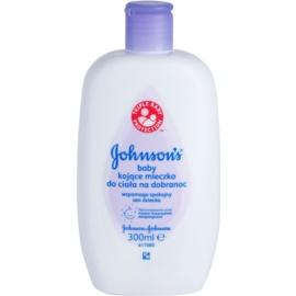 Johnson's Baby Care gyermek testápoló tej a kellemes alvásért  300 ml