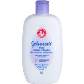 Johnson's Baby Care detské telové mlieko pre dobrý spánok  300 ml