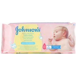 Johnson's Baby Diapering extra jemné vlhčené čisticí ubrousky pro děti  56 ks