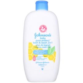 Johnson's Baby Pure Protect gel de duche e banho para crianças   500 ml