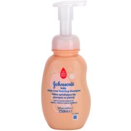 Johnson's Baby Wash and Bath leicht auszuwaschendes Schaum-Shampoo  250 ml