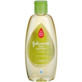 Johnson's Baby Wash and Bath šampon pro světlé a lesklé vlásky s heřmánkem  200 ml