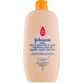 Johnson's Baby Wash and Bath Sprudelbad und Waschgel 2in1  500 ml