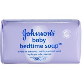 Johnson's Baby Wash and Bath gyermek szappan a kellemes alvásért  100 g
