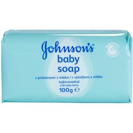 Johnson's Baby Wash and Bath szappan tejkivonattal gyermekeknek  100 g