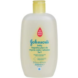 Johnson's Baby Wash and Bath dětský jemný sprchový gel 3 v 1  300 ml