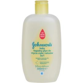 Johnson's Baby Wash and Bath sanftes Duschgel für Kinder 3in1  300 ml