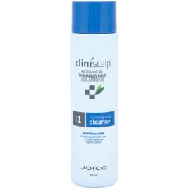 Joico CliniScalp Botanical Solutions čisticí šampon pro přírodní řídnoucí vlasy  300 ml