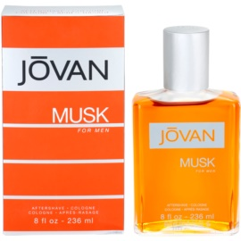 Jovan Musk after shave para homens 236 ml