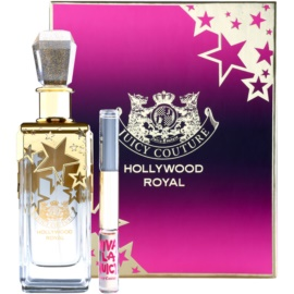 Juicy Couture Hollywood Royal dárková sada  parfemovaná voda 150 ml + roll-on 2 x 5 ml