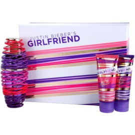 Justin Bieber Girlfriend Gift Set  I.  Eau de Parfum 100 ml + Body Lotion  100 ml + Douchegel 100 ml