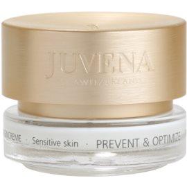 Juvena Prevent & Optimize creme contorno de olhos antirrugas para pele sensível  15 ml